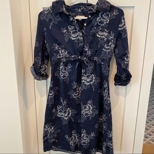 GAP Maternity Floral Shirtdress